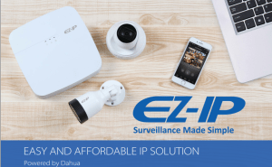 Combo Dahua EZ-IP – Camera IP EZIP PoE – H.265+