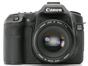 Canon EOS-40D Manual User Guide..