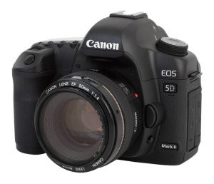 Canon EOS 5D Mark II Manual User Guide.