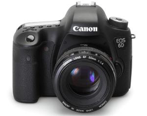 Canon EOS-6D Manual