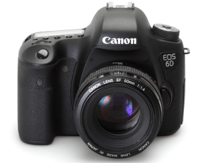 Canon EOS-6D Manual