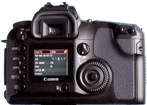 Canon EOS-D30 Manual User Guide,
