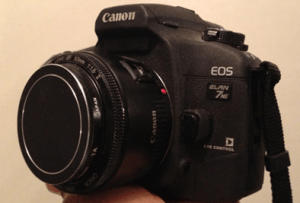 Canon EOS ELAN 7NE Manual User Guide.