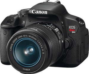 Canon EOS Rebel T4i Manual Novice-oriented Camera for Superb Video Recording,