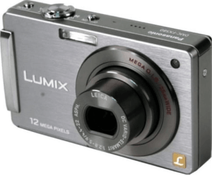 Panasonic Lumix DMC-FX580 Manual: a Manual of Compact Camera with Touch-screen and Traditional Control
