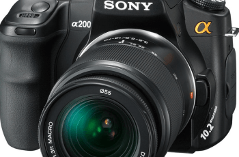Sony DSLR-A200 Manual User Guide PDF 1