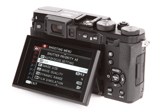A Manual of Remotely Controlled Camera: FUJIFILM X30 Manual
