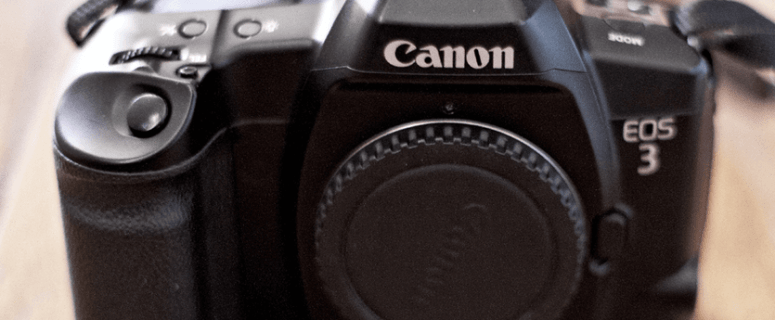 Canon EOS 3 Manual for Canon Fast Auto Focus SLR Body to Revive Your Old Lenses 4