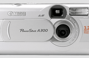 Canon PowerShot A300 Manual : Manual for Beginner Camera User 1