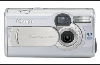 Canon PowerShot A310 Manual and Detail Specification 1