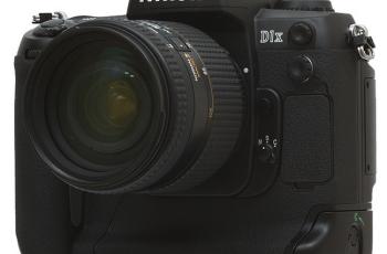 Nikon D1X Manual for Nikon Outstanding 5MP Camera 1