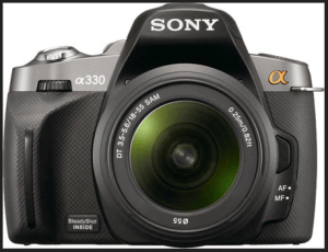 Sony Alpha A330 Manual, Manual of Good Start Budget DSLR for Beginner