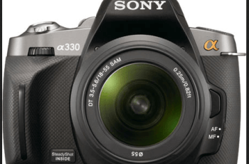 Sony Alpha A330 Manual, Manual of Good Start Budget DSLR for Beginner 1