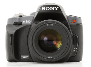 Sony Alpha A380 Manual for Sony's Good Performance Entry-Level DSLR