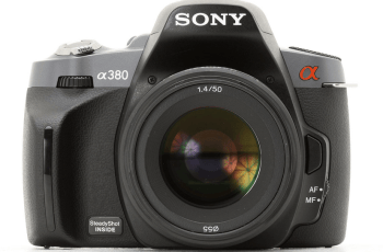Sony Alpha A380 Manual for Sony's Good Performance Entry-Level DSLR 1