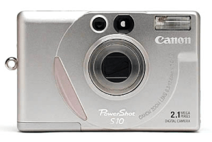 Canon PowerShot S10 Manual, a Manual of Canon Classic PowerShot Camera