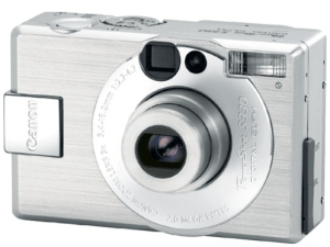 Canon PowerShot S330 Manual For Canon Silvery Compact Camera