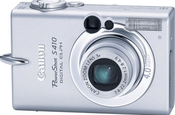 Canon PowerShot S410 Manual User Guide and Detail Specification