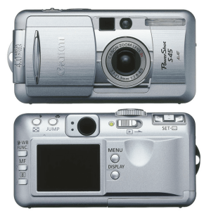 Canon PowerShot S45 Manual for Canon Fine Picture Camera
