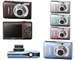 Canon PowerShot SD1300 IS Manual fro Canon's Chic and Colorful Camera