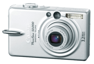 Canon PowerShot SD200 Manual User Guide and Review