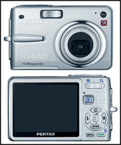 Pentax Optio A20 Manual User Guide and Review