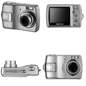Pentax Optio M20 Manual User Guide and Review