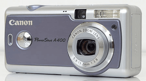 Canon PowerShot A400 Manual User Guide and Review