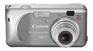 Canon PowerShot A430 Manual User Guide and Review