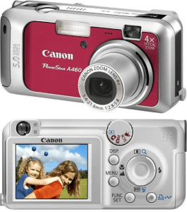 Canon PowerShot A460 Manual for Canon's Simple and Exquisite Camera