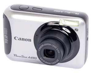 Canon PowerShot A490 Manual for Canon's Slim and Lightweight Mobility Camera