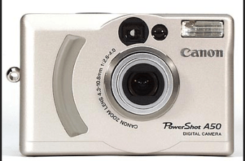 Canon PowerShot A50 Manual for Your Canon's Rugged Camera with Clear Images