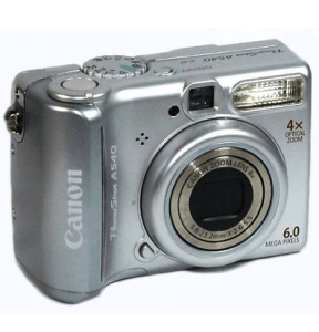 Canon PowerShot A540 Manual User Guide and Specification