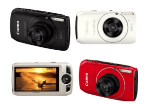 Canon PowerShot SD4000 IS Manual for Canon's First ELPH Camera to Feature CMOS Sensor