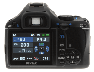 Pentax K-x Manual User Guide for Pentax's Plasticky Compact SLR Camera