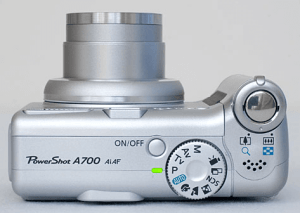 Canon PowerShot A700 Manual for Canon's Compact Camera with DSLR Taste