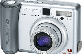 Canon PowerShot A85 Manual User Guide and Specification