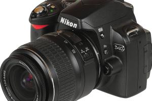 Nikon D40 Manual (camera body with lens)