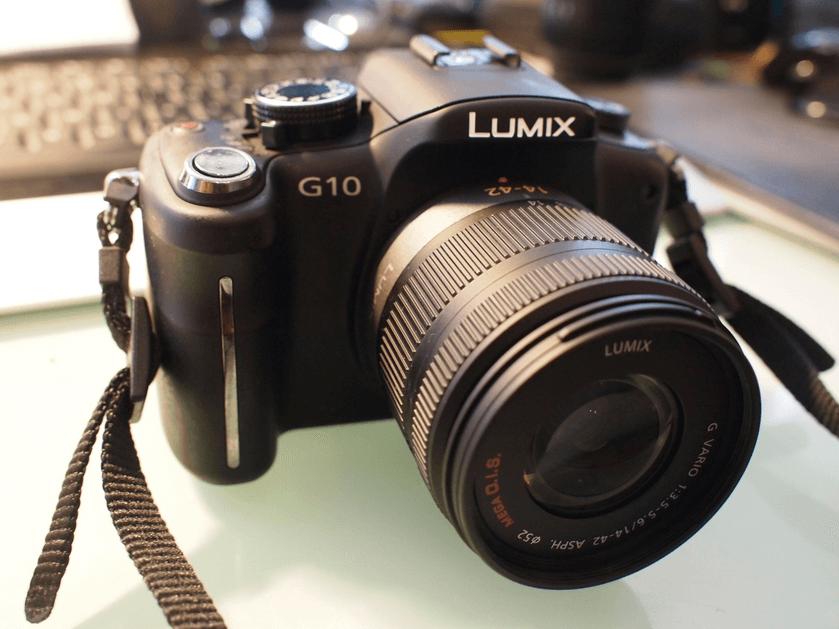 Panasonic DMC-G10 Manual for Panasonic's SLR Quality Camera
