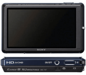 Sony DSC-TX7 Manual (camera back anc side)
