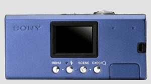 Sony DSC-U40 Manual (camera back side)