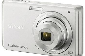Sony DSC-W180 Manual (camera backside)