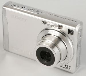 Sony DSC-W200 Manual (camera front side)