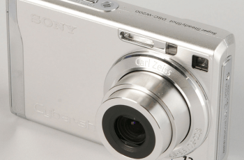 Sony DSC-W200 Manual (camera front side)
