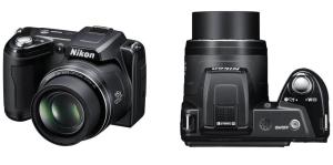 Nikon CoolPix L105 Manual - camera appearance