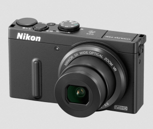 Nikon CoolPix P330 Manual - camera front side