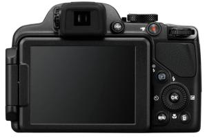 Nikon CoolPix P520 Manual - camera backside