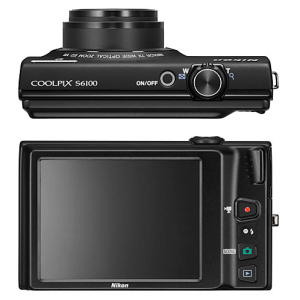 Nikon CoolPix S6100 Manual - camera back side