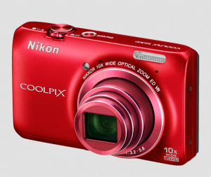 Nikon CoolPix S6300 Manual - camera front side