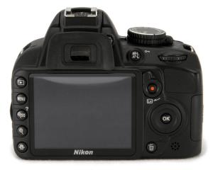 Nikon D3100 Manual - camera backside
